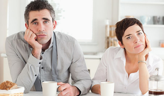 a bad marriage is often a stalemate