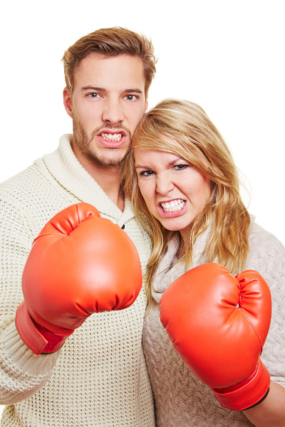 fighting for new couples